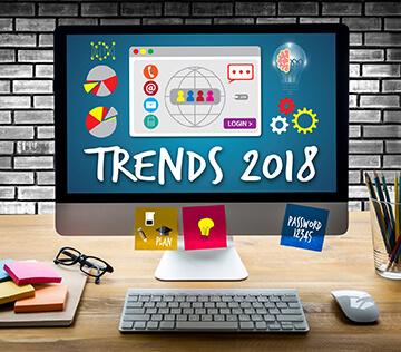 Тренды веб дизайна в 2018