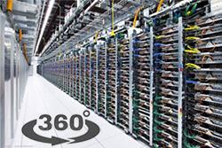 Google показал 360° видео-тур своего дата-центра